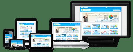 Modern hemsida